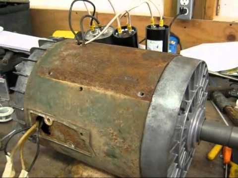 hp single phase dayton farm duty electric motor youtube