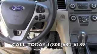 2013 Ford Taurus SE Review Video * Sterling Gray * 3.5L V6