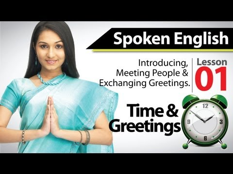 English Speaking - Basic English Training Module Chapter 01
