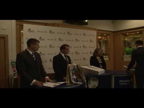 Petrofac Training Cup -- First Round Draw Live!