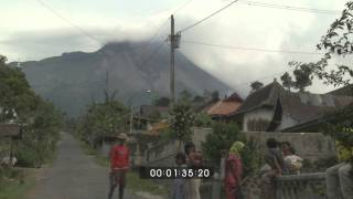 Background & Scenic Footage of Merapi Volcano and Surrounding Villages 28th October 2010 - Screener
