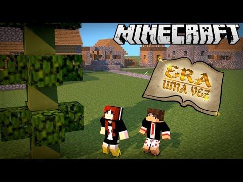 JOÃO E O PÉ DE FEIJÃO! - Era Uma Vez #10 - Minecraft