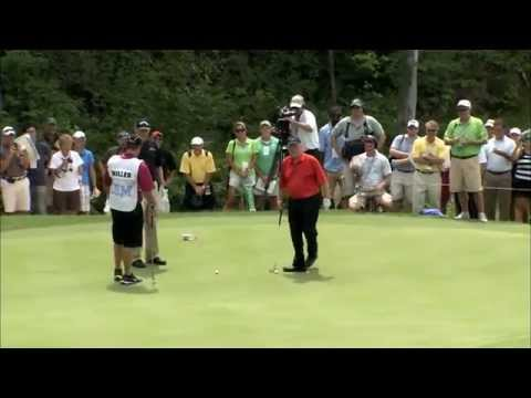 Jack Nicklaus - Unbelievable 102 Foot Putt !