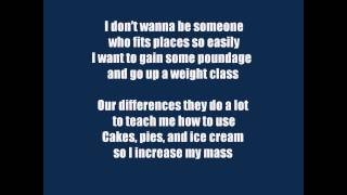 [I Can't Gain Weight - I Won't Give Up Parody] Video