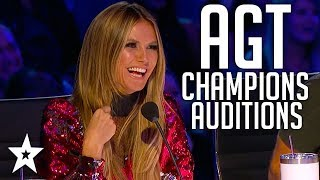 The Champions on America's Got Talent 2019   Auditions   WEEK 2   Got Talent Global