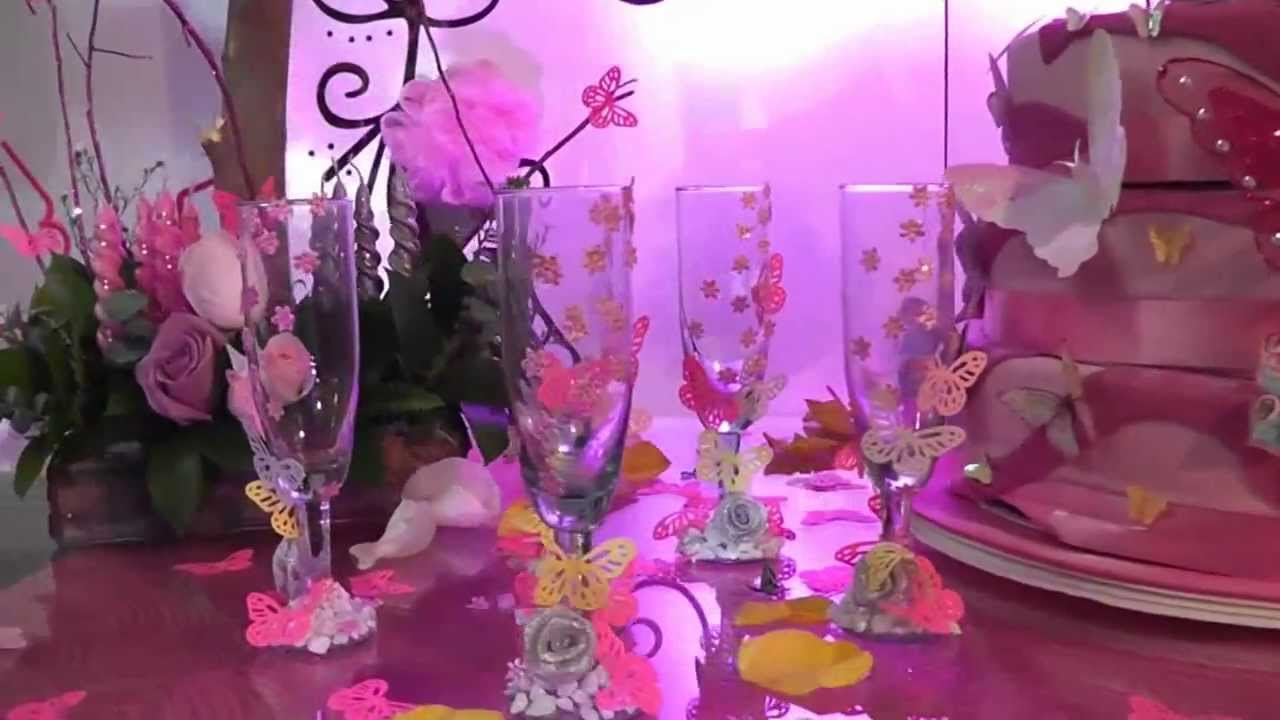 Decoracion tem tica 15 a os youtube for Decoracion quince anos