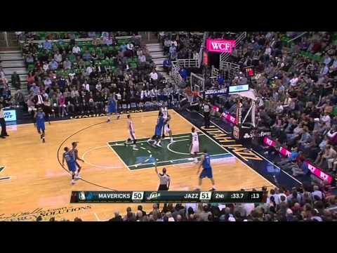 Dallas Mavericks vs Utah Jazz | March 12, 2014 | NBA 2013-14 Season