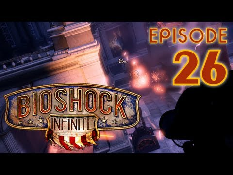 Bioshock Infinite, Let's Play in 1440p, Part 26: Using Tears in the Hall of Heroes (PC, w/ GTX 680)
