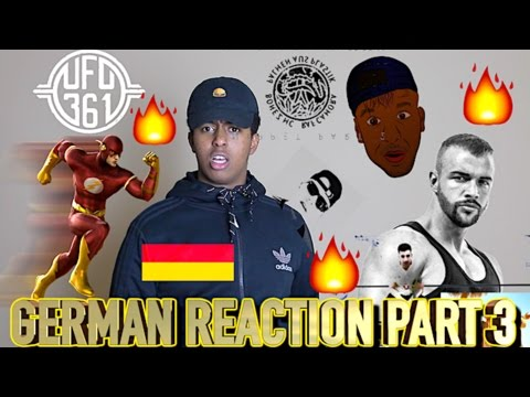 FIRST REACTION TO GERMAN RAP/HIP HOP PART 3!