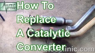 How To Replace A Catalytic Converter Chrysler Town