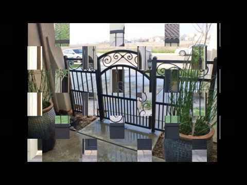 Entry Courtyard Gates Supplies with Complete Installation