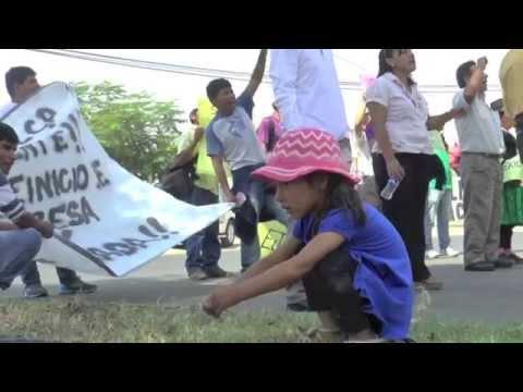 Liscay, Chincha, Peru - Protest / Protesta