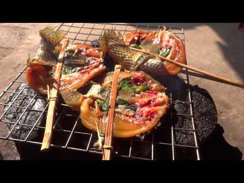 แอ๊บปลาลาวแท้ๆ Laos local food