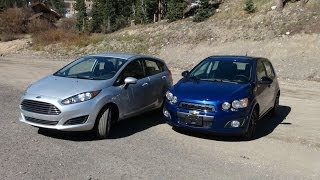 2014 Ford Fiesta Vs Chevy Sonic Turbo Vs The Ike Gauntlet