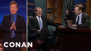 David Letterman saved Conan O'Brien