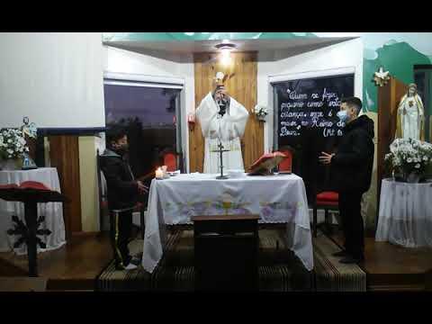 Santa Missa | 11.08.2021 | Quarta-feira | Padre Robson Antônio | ANSPAZ