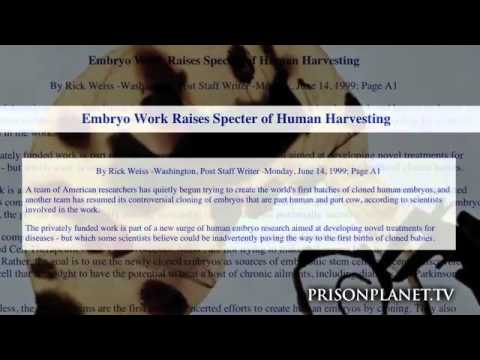 Eugenics, Human Cloning, GMO Food & The NWO - Alex Jones WARNING - Humanity is Under Attack
