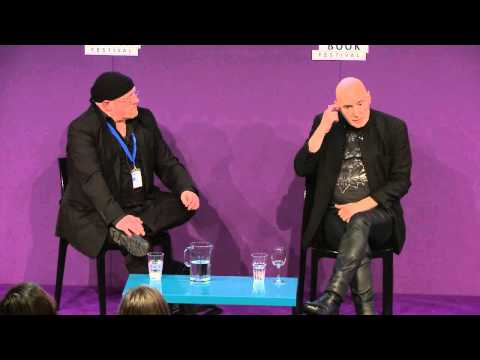 Grant Morrison at the Edinburgh International Book Festival