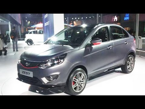 Tata Motors Zest Unveils | 12th Auto Expo 2014