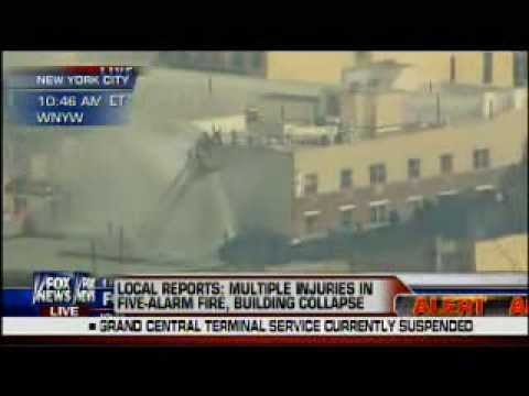 Building Explosion/Collapse in NYC/Harlem 3/12/2014 - FOX News Coverage