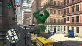 LEGO Marvel Super Heroes The Video Game Hulk Free Roam