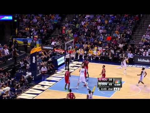 2014/04/09 Jeremy Lin HighLights│Rockets vs. Nuggets│