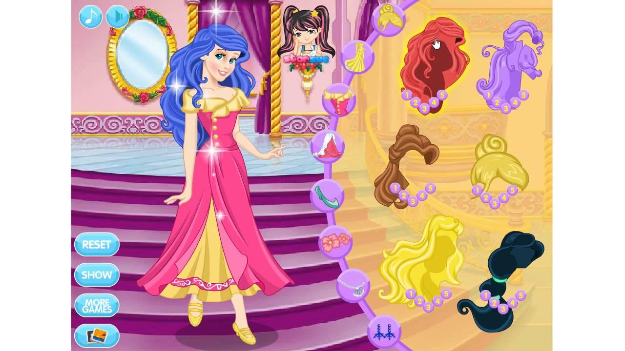Ariel nude dress up game