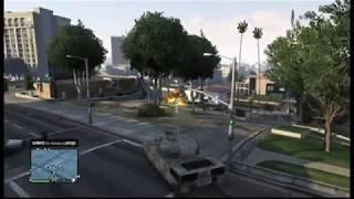 GTA V Online Comprando Tanque Rhino Y Probandolo / GTA 5