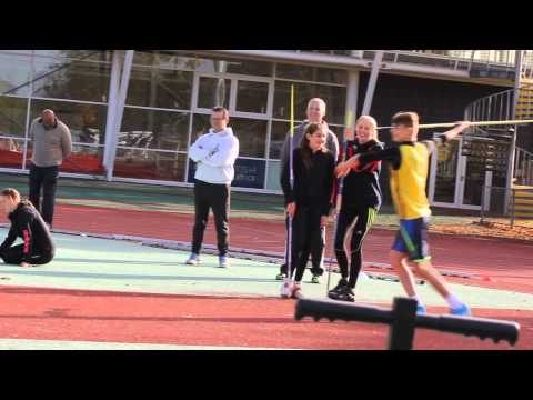 Javelin Throw Workshop @ Loughborough Uni 11th October 2015 part2of2