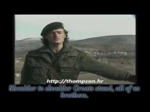 Thompson Marko Perkovic - Cavoglave (English Lyrics)