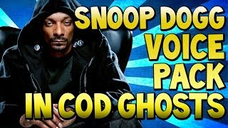 "COD Ghosts - ""SNOOP DOGG"" Voice Pack DLC & ""SOAP LEGEND PACK"" (Call of Duty)"
