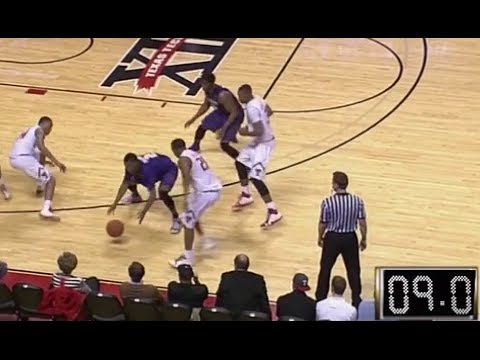 2014 K-State at Tech Basketball