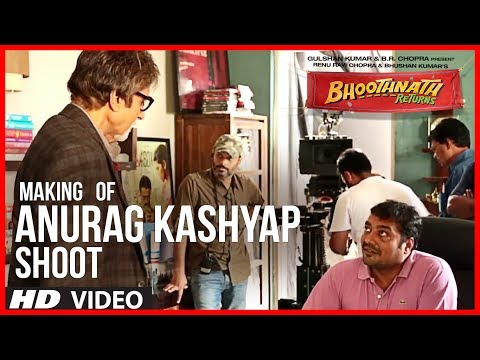 Anurag Kashyap Shooting for Bhoothnath Returns | Exclusive