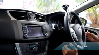 Side  Preview Test Drive  Nissan Pulsar