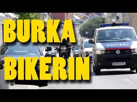 Burka Bikerin - Wiener Schmäh