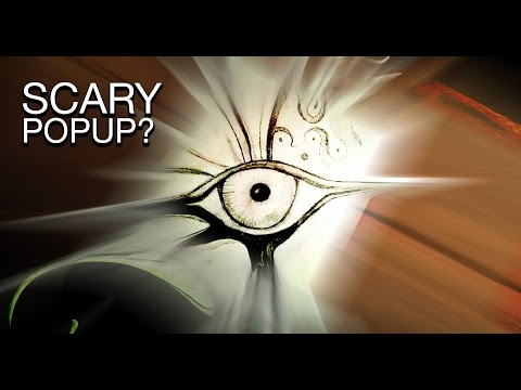 Scary pop up that will make you SCREAM & Poop & Jump