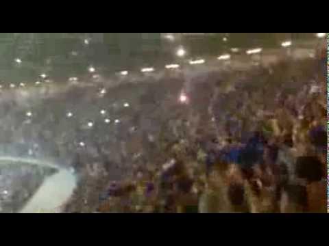 Torcida no Intervalo de Cruzeiro 3 x 0 Botafogo--Nos somos loucos,somos Cruzeiro!!