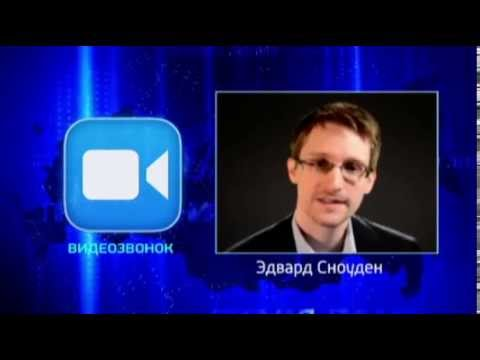 Edward Snowden asks Putin about mass surveillance