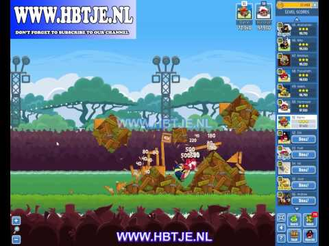 Angry Birds Friends Tournament Week 73 Level 1 High Score 100k (tournament 1)