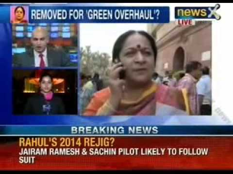 Environment Ministry is not a roadblock says Jayanthi Natarajan - NewsX