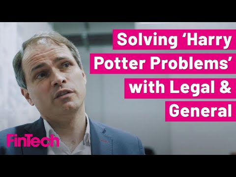 Legal & General's CIO, Maarten Ectors, on solving the most challenging 'Harry Potter Problems'