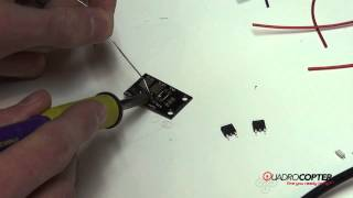 Quadrocopter Tutorial - Mikrokopter PCB Assembly
