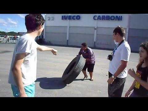 Competição, levantamento de Pneu, Chapa e borboleta