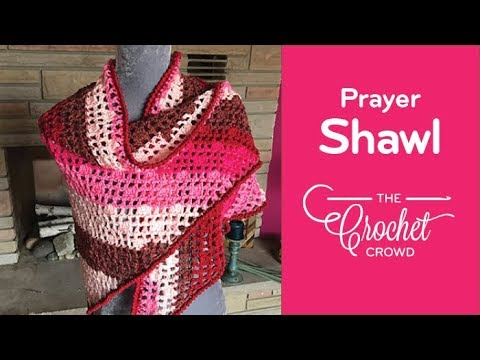 How to Crochet A Prayer Shawl: Caron Cakes