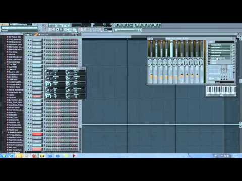 FL Studio 10 - How to Create a Lex Luger Beat 720p HQ