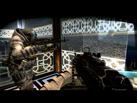 MW3 Makarov's Death Cutscenes Last Mission (Dust to Dust) 1080p