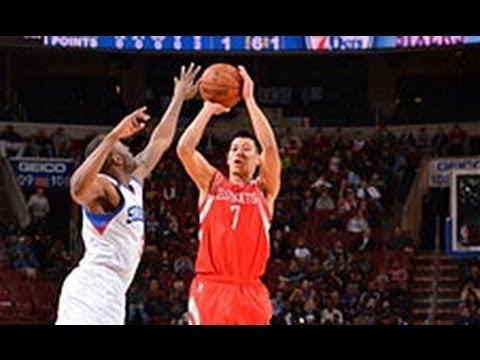 Jeremy Lin Sinks a Record 9 3s at the Wells Fargo Center!