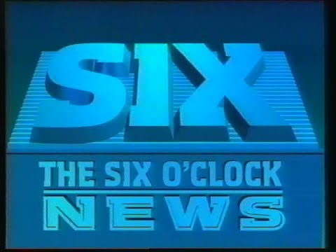 BBC1 Link, Promos, 6 O'Clock News, February 1988