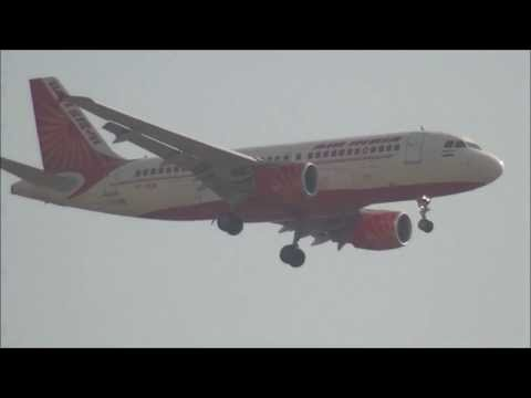 COMPILATION OF MIGHTY AEROPLANES CAPTURED AT EYE LEVEL IN MUMBAI, INDIA
