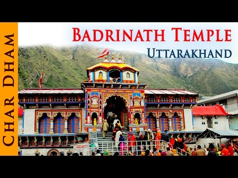 Indian Temple - Indian Temple - Badrinath Temple Uttrakhand - Temple Tours